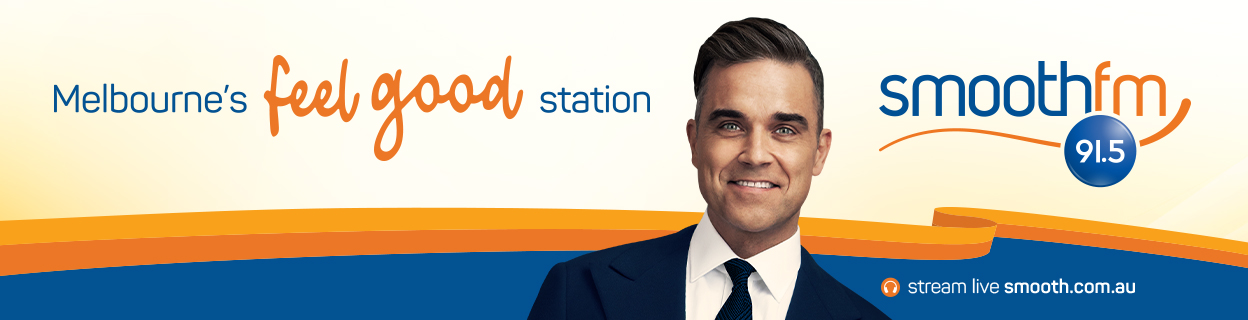 Superstar Robbie Williams fronts smoothfm's new-look campaign via Nova Entertainment