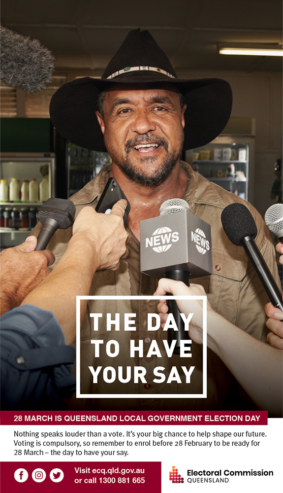 Electoral Commission of Queensland unveils 'The day to have your say' campaign via Engine Group