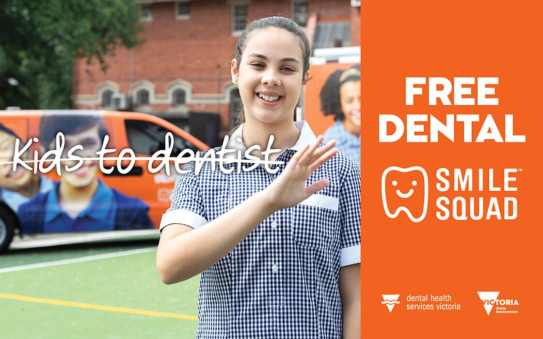 Victorian Government promotes free dental care in new 'Smile Squad' campaign via DPR&Co