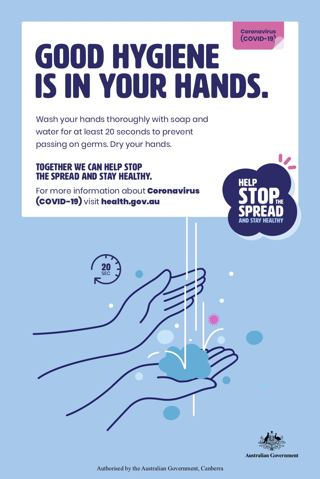 Australian Government unveils 'Help Stop the Spread' COVID-19 campaign via Carbon Creative