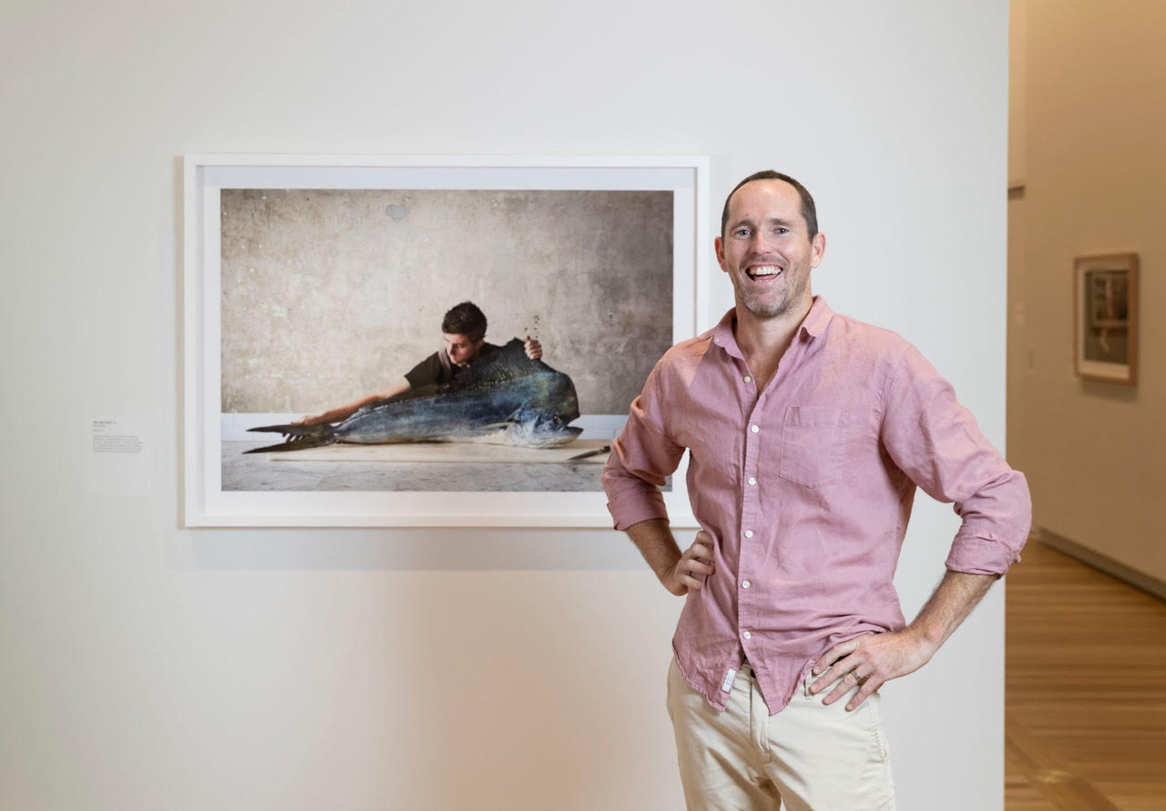 FLIPP's Rob Palmer wins prestigious National Photographic Portrait Prize for 'The Mahi-Mahi'