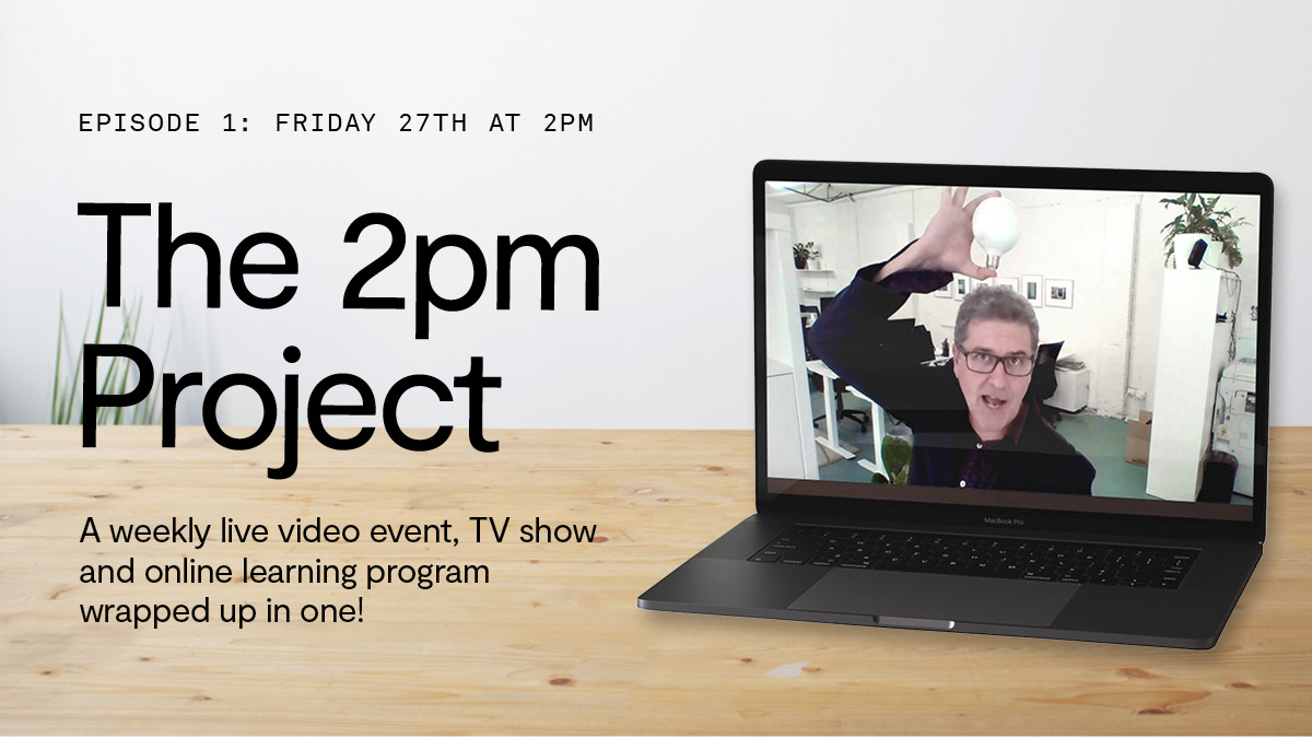 Interchange launches weekly live video event and TV show 'The 2pm Project' – airs today at 2pm