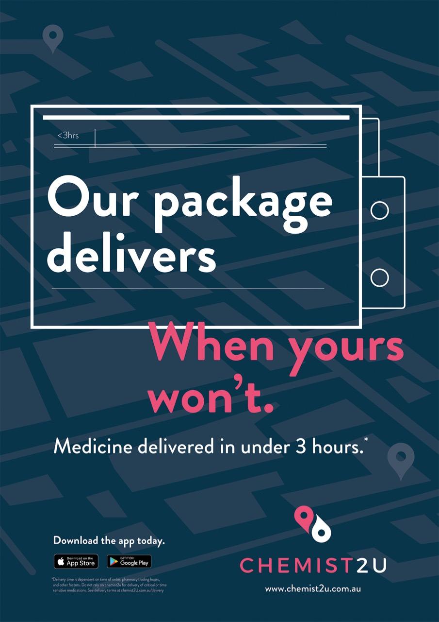 Tonic Health Media launches campaign for new chemist delivery brand Chemist2U via AnalogFolk