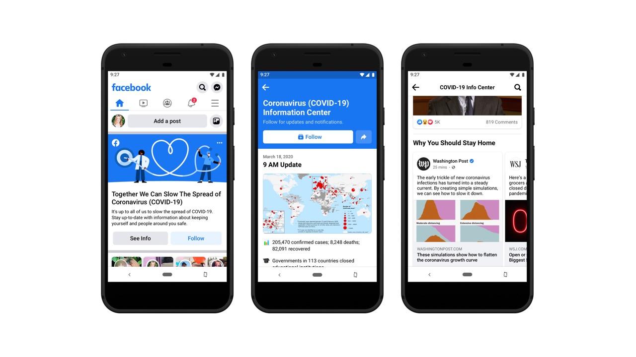 Facebook launches Coronavirus Australian Information Center
