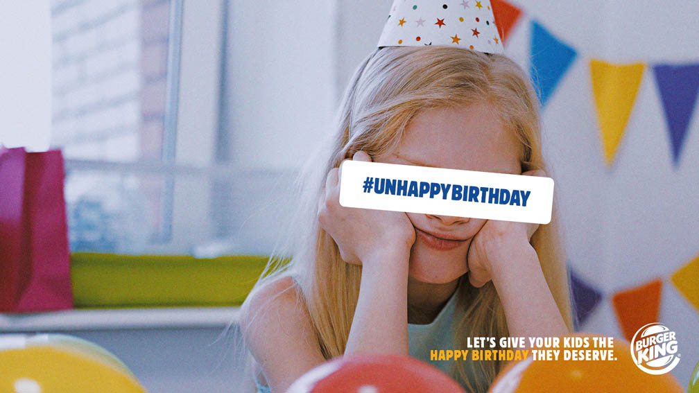 Best Ad of the Day: Burger King 'Unhappy Birthday' by DAVID Madrid