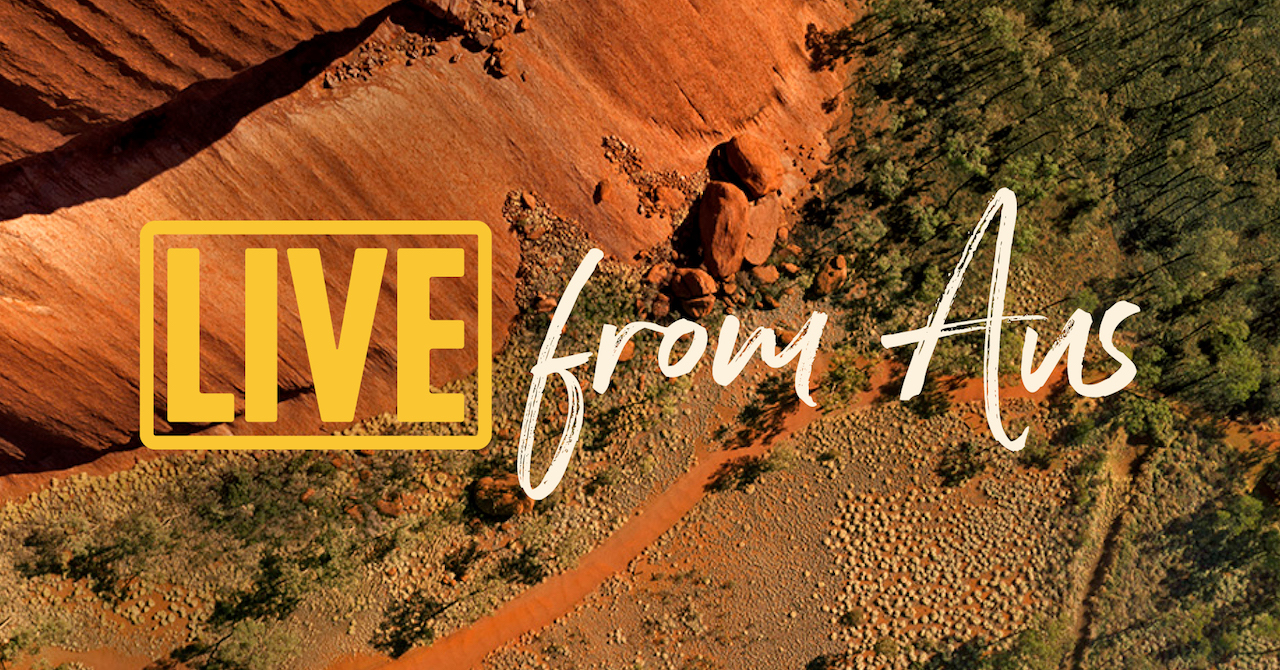 Tourism Australia to live stream the best of Australia into living rooms across the country with the launch of 'Live From Aus' via Digitas