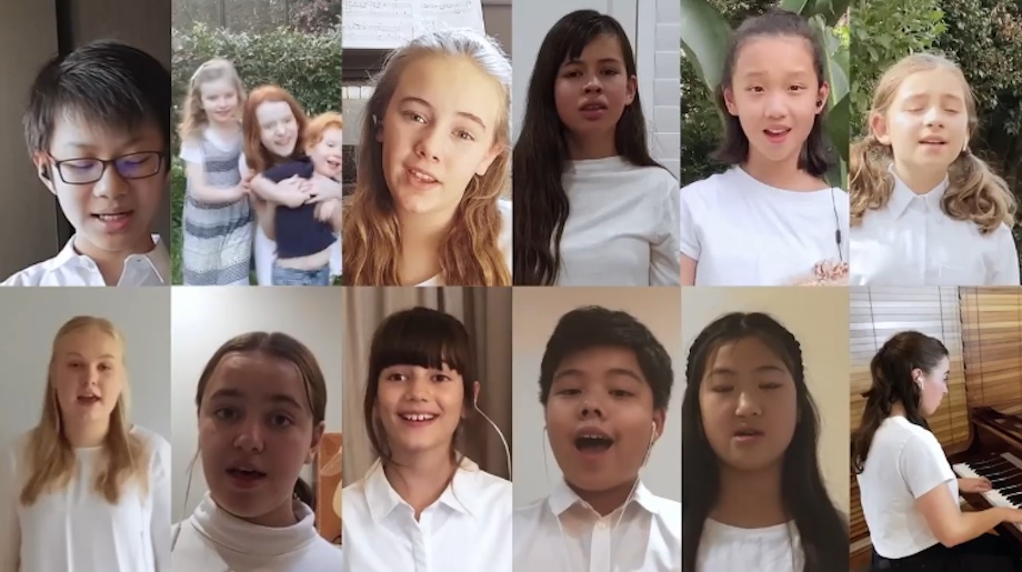 Qantas choirs sing 'I still call Australia home' in newly launched online film via The Monkeys