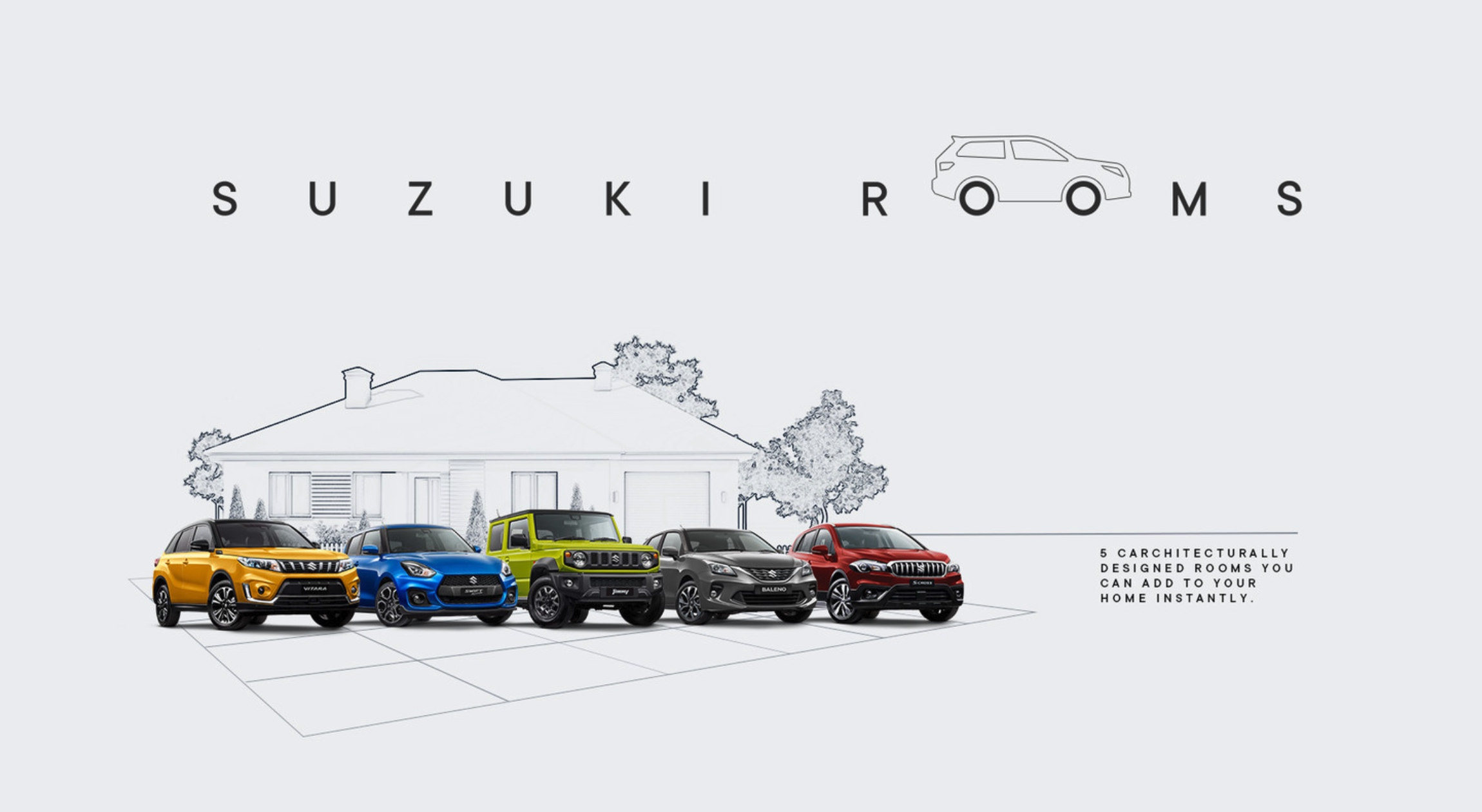 Suzuki offers Australians extra room with 'Suzuki Architecture' via Deloitte Digital