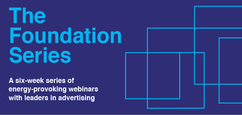 Comms Council presents 'The Foundation Series' for young ad folk to gain knowledge directly from industry leaders – starts Thursday 28 May