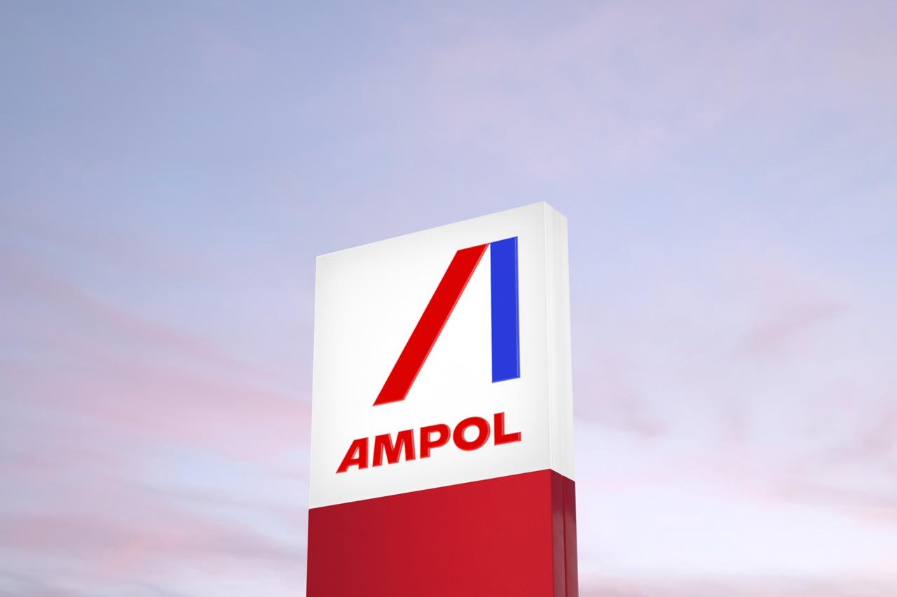 Houston creates new identity for AMPOL symbolising the brand's forward momentum