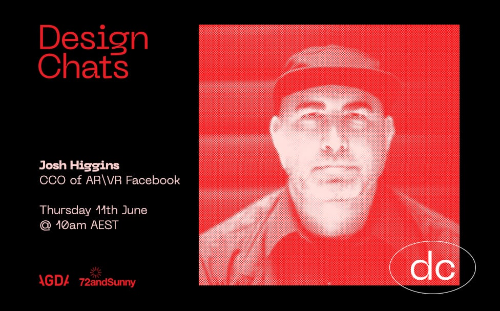 72andSunny Sydney + AGDA partner up to launch 'Design Chats' featuring Obama's design director