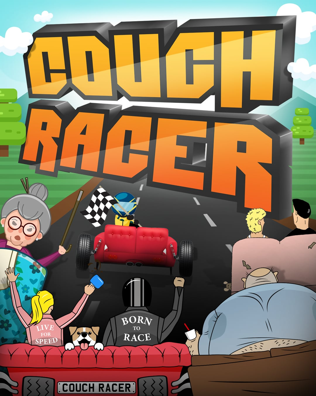 Start Your Couches: Innocean puts lockdown twist on classic game with 'Couch Racer' launch