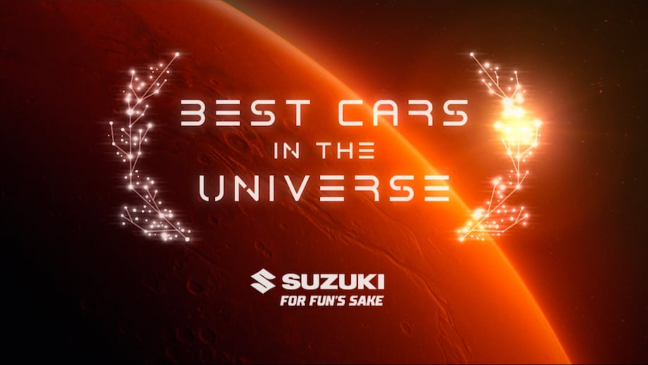 Universal Automotive Authority recognises Suzukis as Best Cars in the Universe in new campaign via Deloitte Digital Melbourne