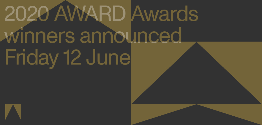 2020 AWARD Awards to be announced via virtual show live streamed this Friday 12 June at 3pm AEST