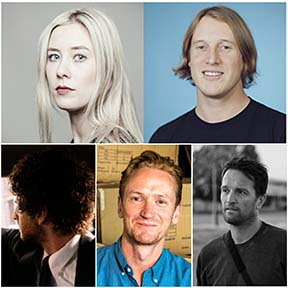 Five Aussies ~ Ant White, Leo Premutico, Mietta McFarlane, Luke Chard and Mark Molloy ~  included in this year's Adweek Creative 100