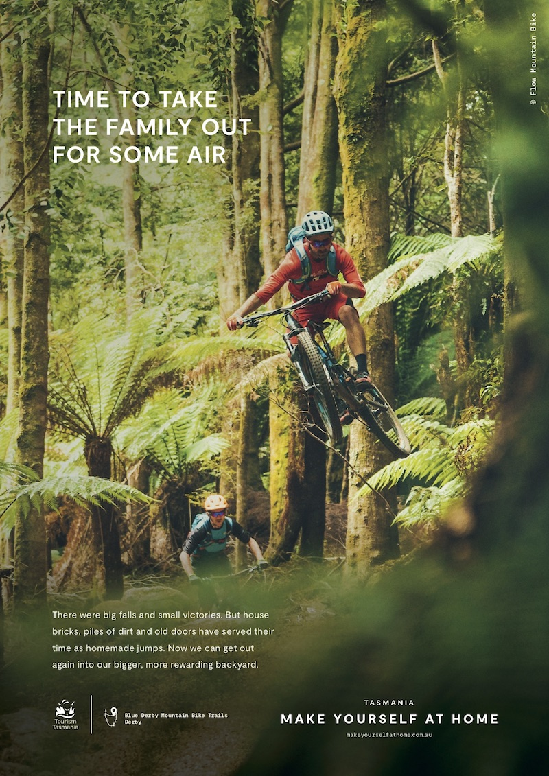 Tourism Tasmania launches new 'Make Yourself at Home' intrastate travel campaign via The20