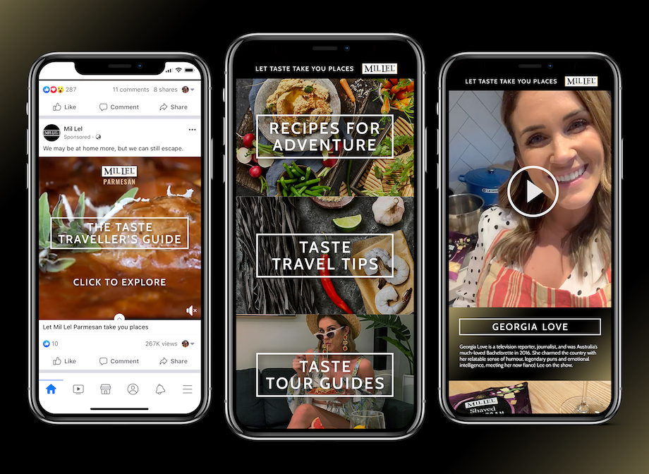 Mil Lel encourages people to travel through food experiences in new campaign via Havas Melbourne