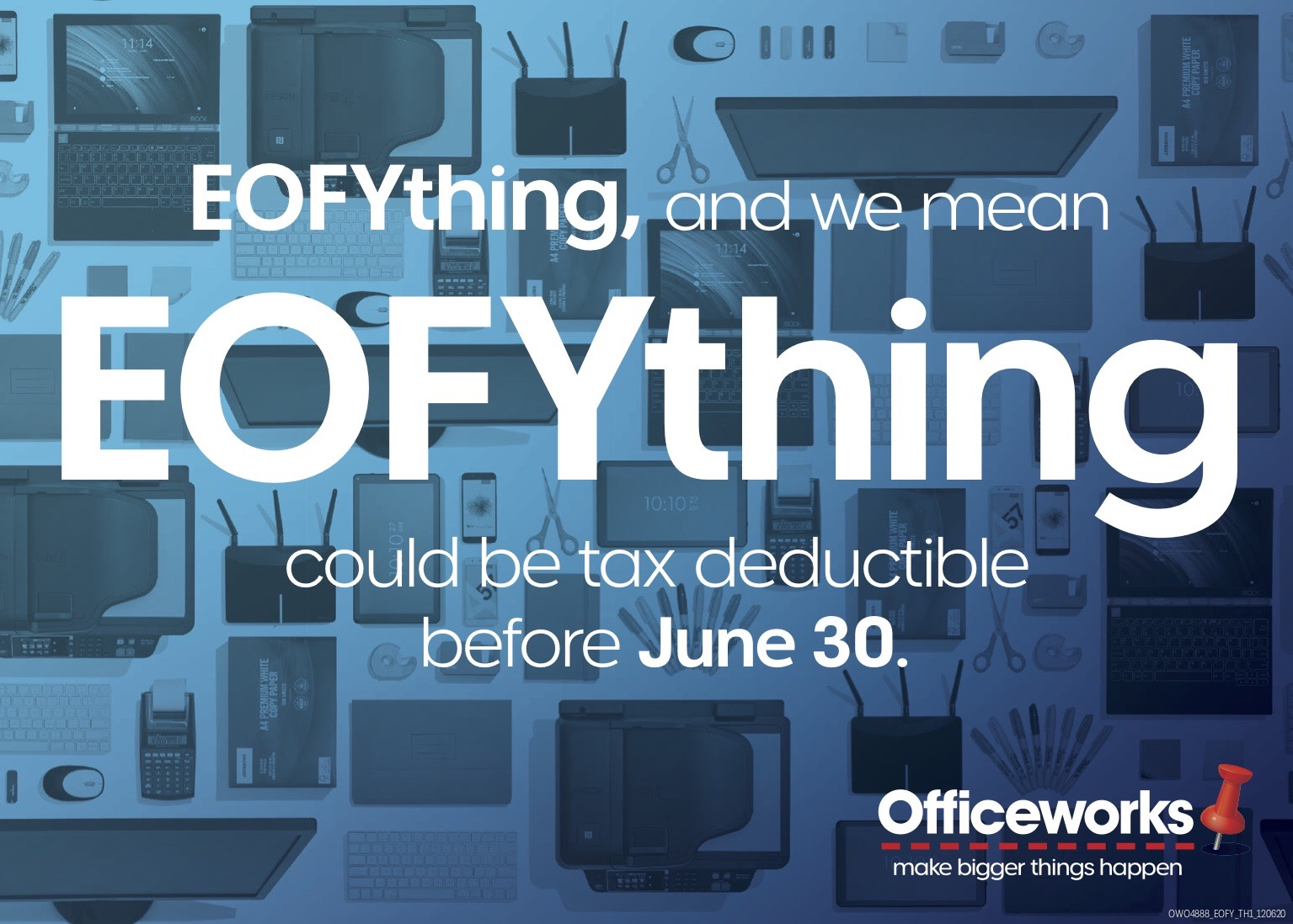 Officeworks delivers EOFYthing in new end of financial year campaign via AJF GrowthOps
