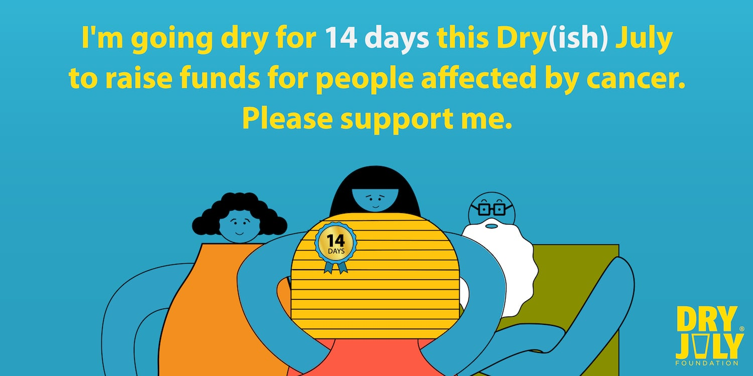 Dry July Foundation encourages Aussies to go as dry as their willing to try in new 'Dry(ish) July' campaign via Clemenger BBDO Sydney