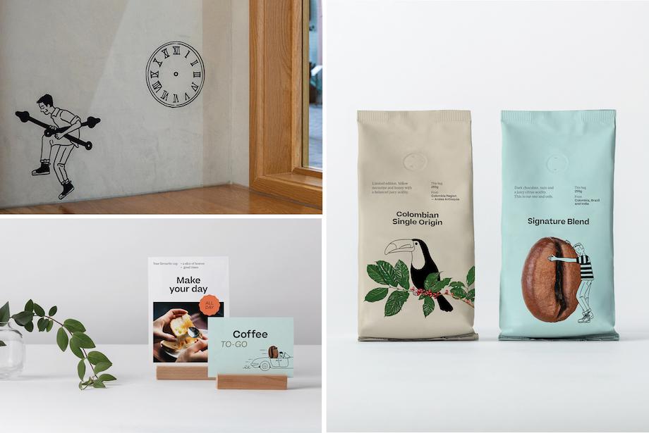 The Coffee Club launches new branding via Sydney brand and creative studio ACCOMPANY