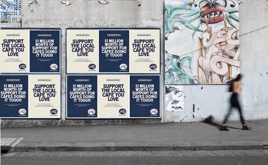 Harris Coffee launches new 'Made for Australia' brand platform via Edge