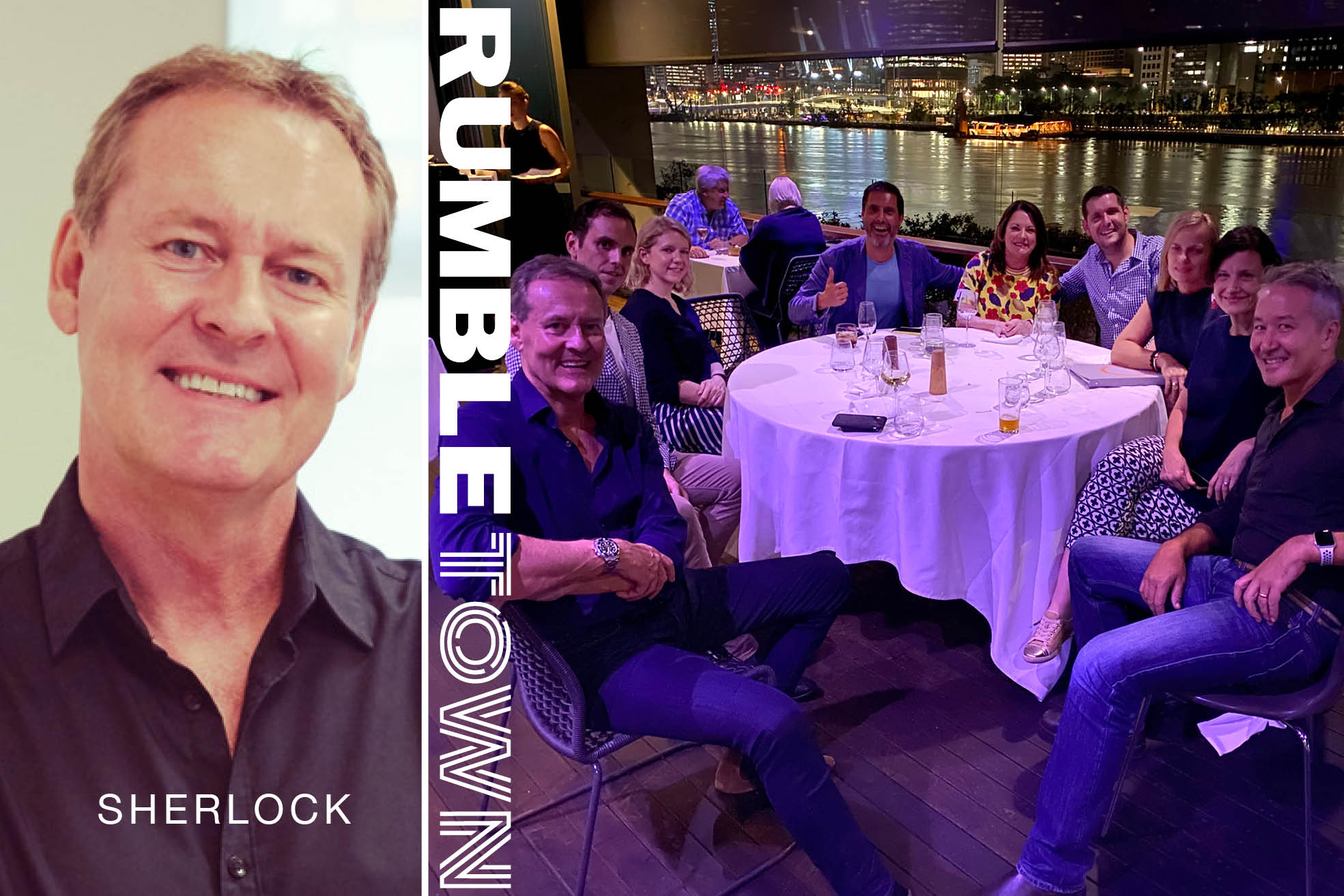 ROB SHERLOCK TO CHAIR INTERNATIONAL ADVISORY BOARD FOR RUMBLETOWN GROUP OF AGENCIES