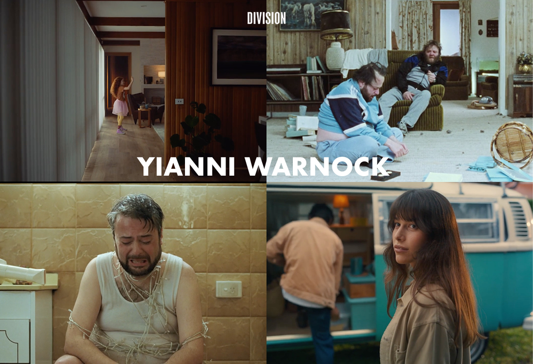 INTERNATIONALLY ACCLAIMED AUSSIE COMEDY DIRECTOR YIANNI WARNOCK JOINS DIVISION