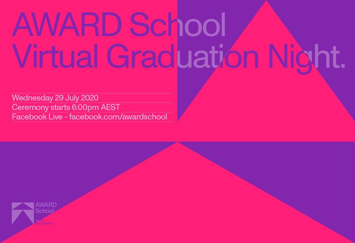 AWARD School 2020 Virtual Graduation Night – just one week to go: 6.00pm AEST, Wed 29 July
