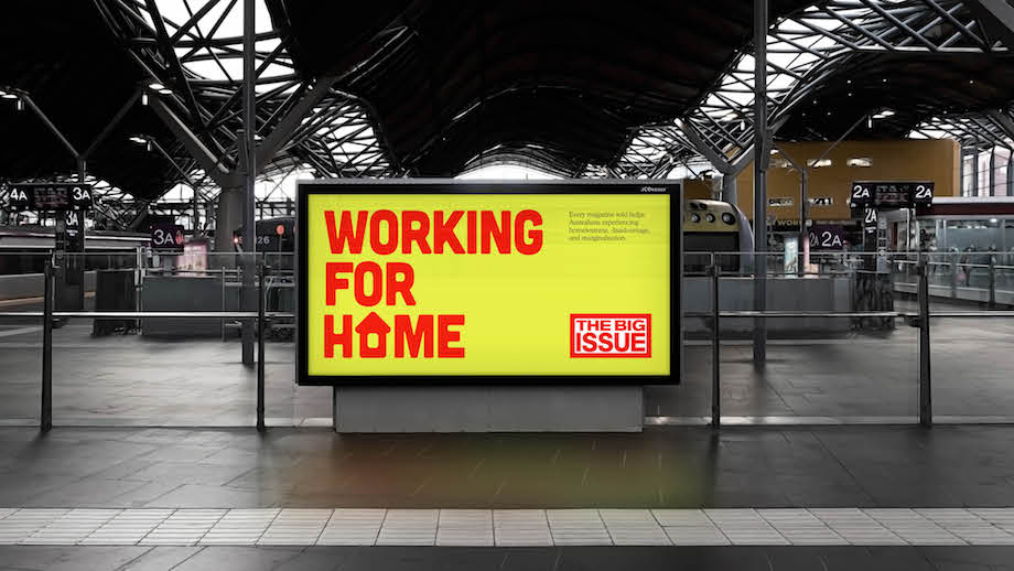 The Big Issue unveils Working For Home campaign via Town Square as vendors return to the streets