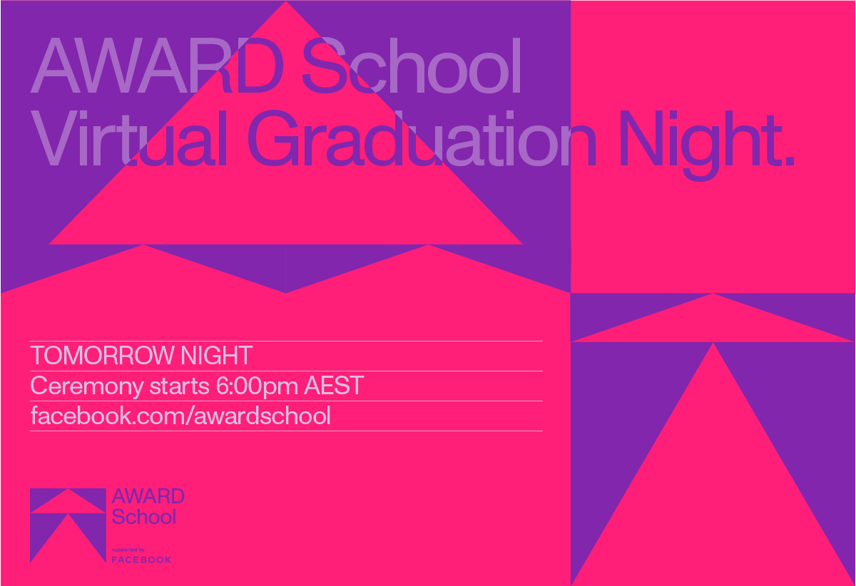 'The Wall' goes online tomorrow for AWARD School 2020 Virtual Graduation Night