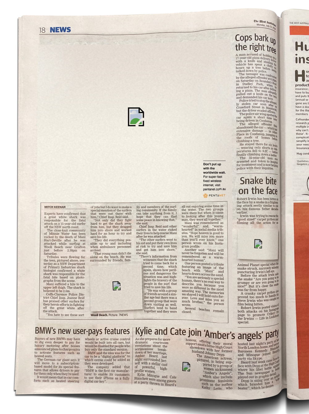 15 Perth agencies step up to the plate in 'Best in The West' newspaper advertising creative exercise