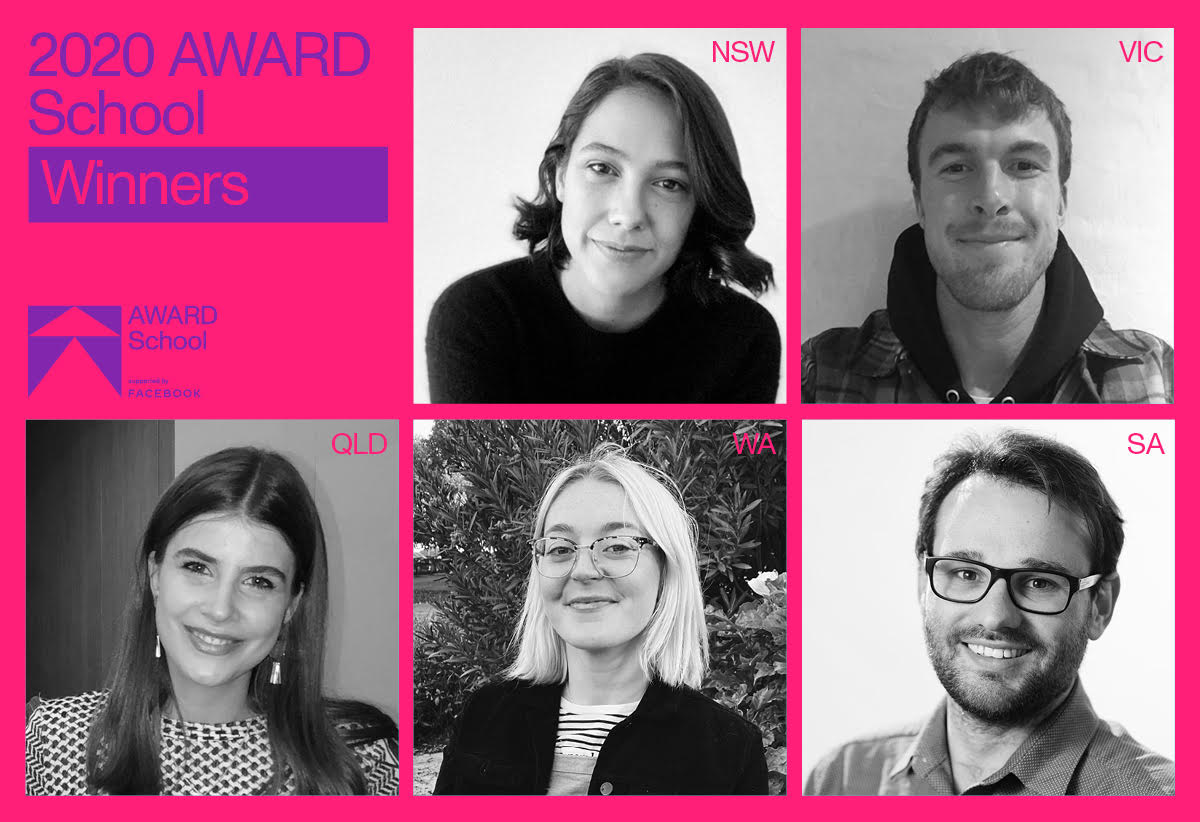 AWARD School 2020 State Top Students Announced ~ Virtual graduation ceremonies in NSW, VIC, QLD and SA; 'in-person' graduation ceremony in Perth