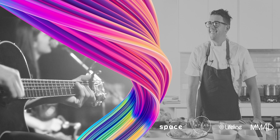 S p a c e to host the World's Biggest Virtual Dinner Party on Friday, August 14