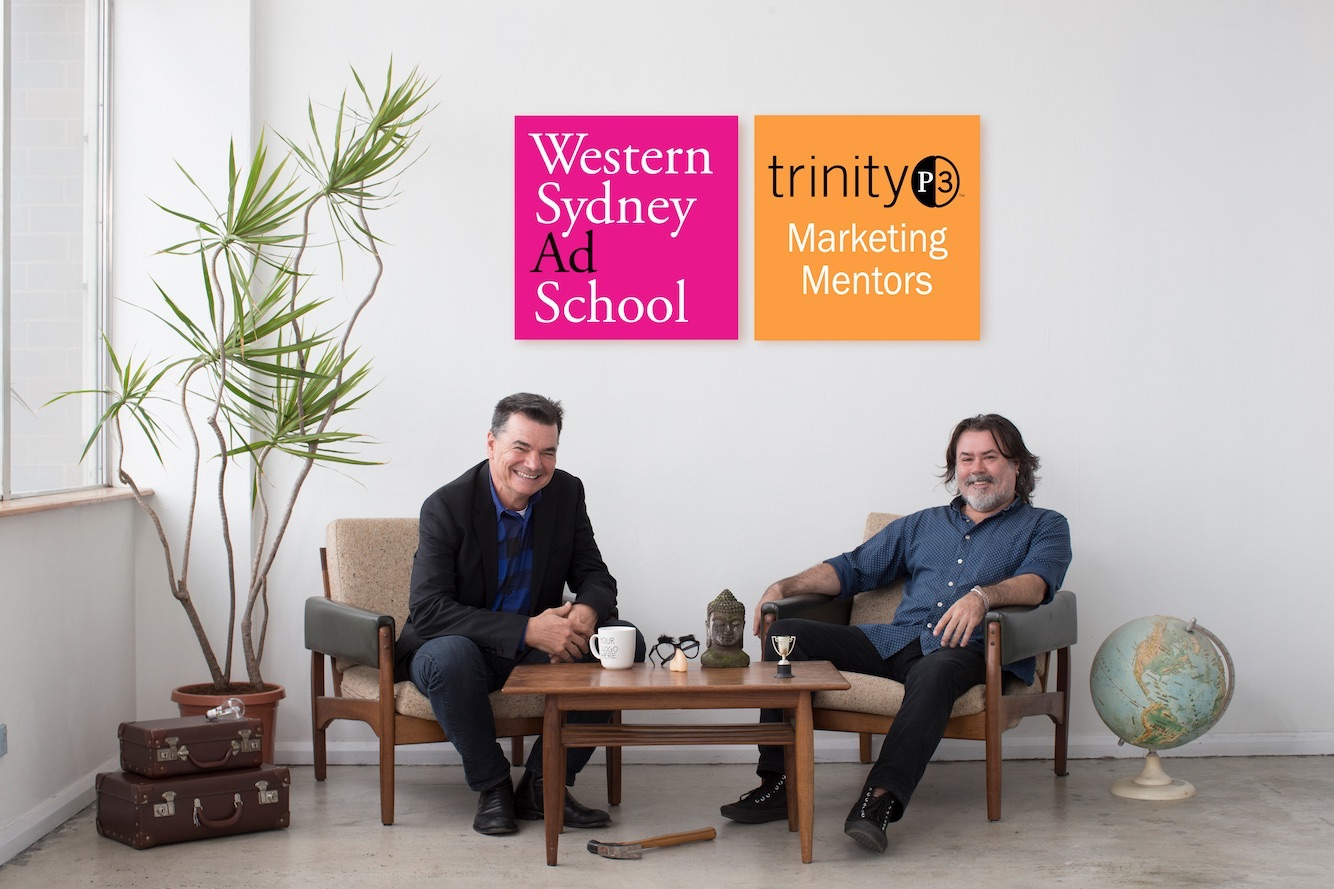 Western Sydney Ad School offers free TrinityP3 Mentoring and BWM/Dentsu Internship