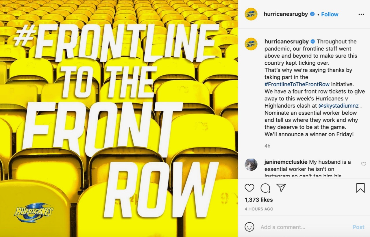 UK-based Aussie expats David Simons and Gooch Richards launch #FrontlineToTheFrontRow