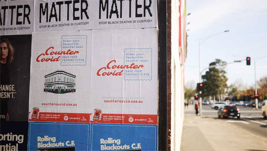 By All Means gives a helping hand to Melbourne's ailing pubs in pro-bono initiative 'Counter Covid'