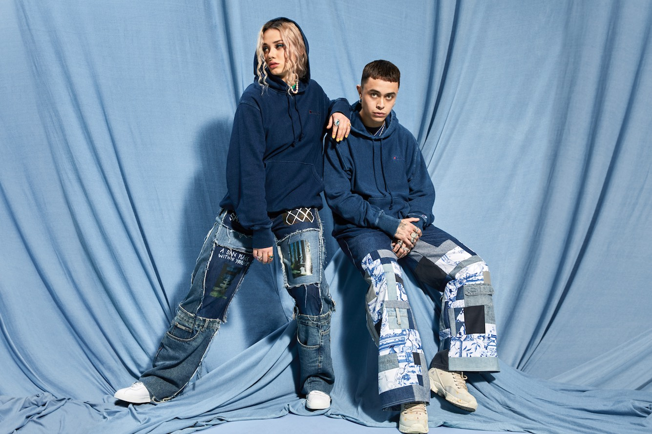 Champion Australia launches new recycled range Re:bound and campaign via TABOO, Melbourne