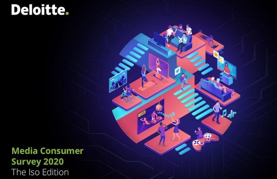 Deloitte Media Consumer Survey 2020: COVID creates an alternate entertainment reality