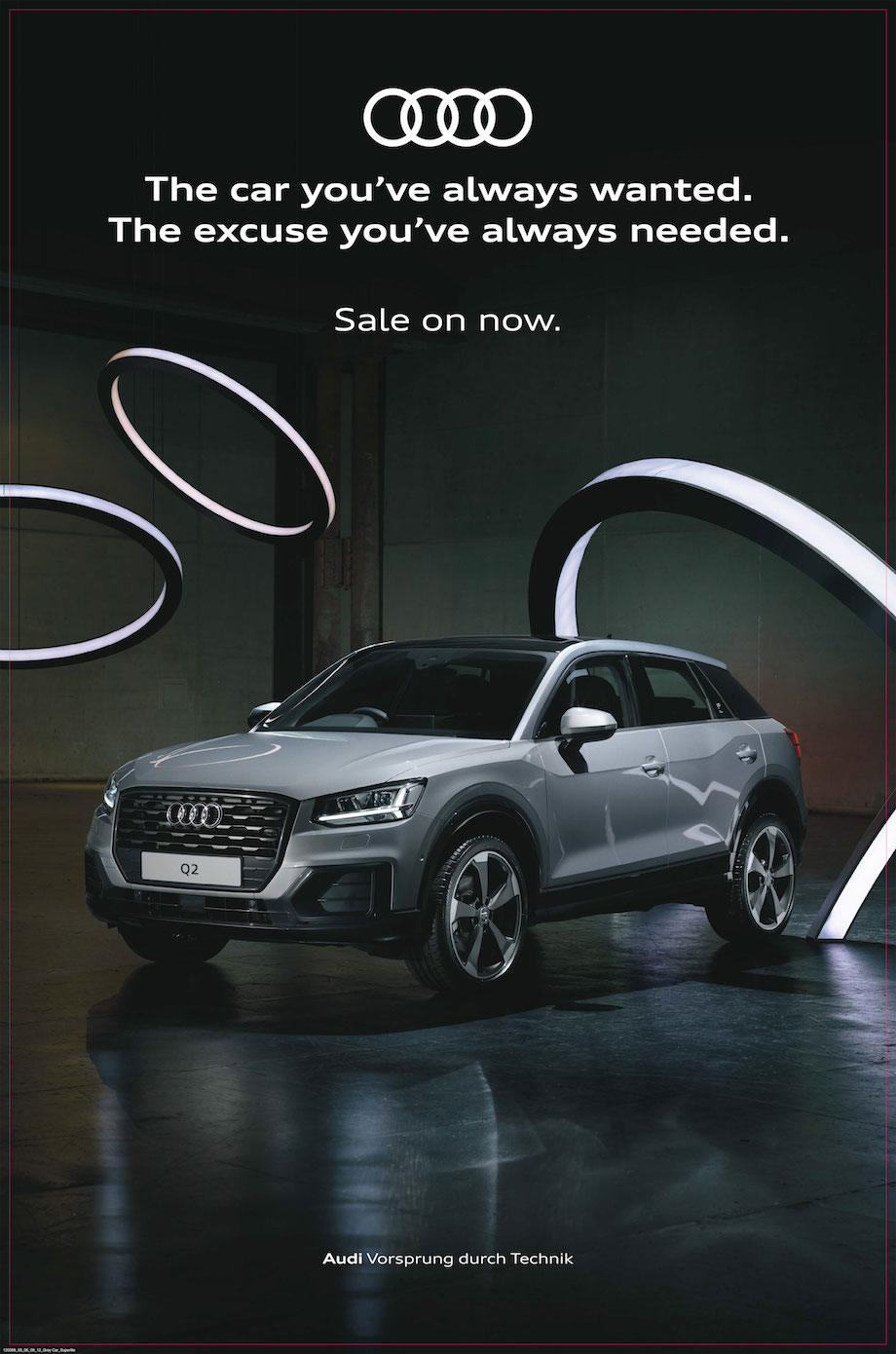 Audi launches new 'The car you've always wanted' retail campaign via BMF Australia