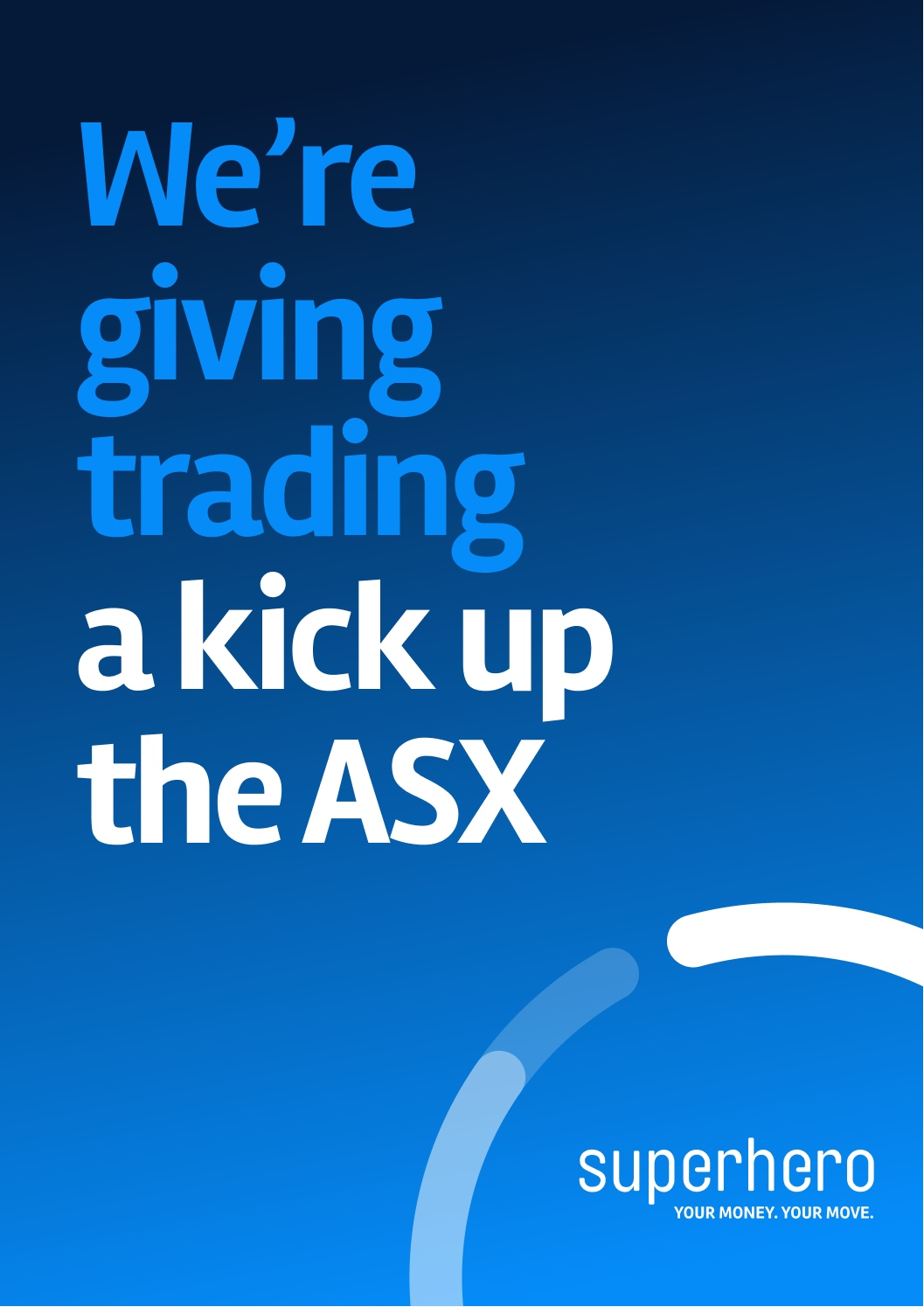 Superhero gives trading a kick up the ASX in new communications campaign via Hardhat