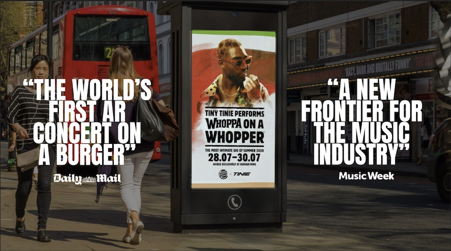 How BBH London turned a Whopper into a stage – brought to you by Facebook Curated ANZ