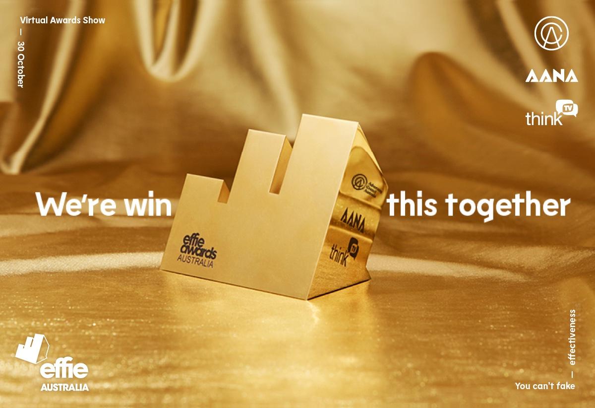 12th Australian Effie Awards Virtual Show set for 1pm Friday, 30 October 2020 – register now