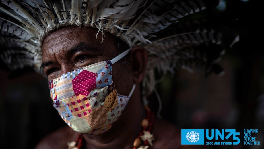 Creative director Simon Lister launches the United Nations' 75th Anniversary film