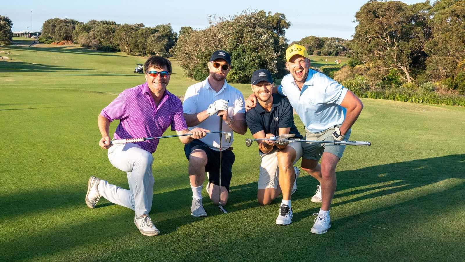 Industry swings for good at UnLtd Open raising $140,000 for youth at risk