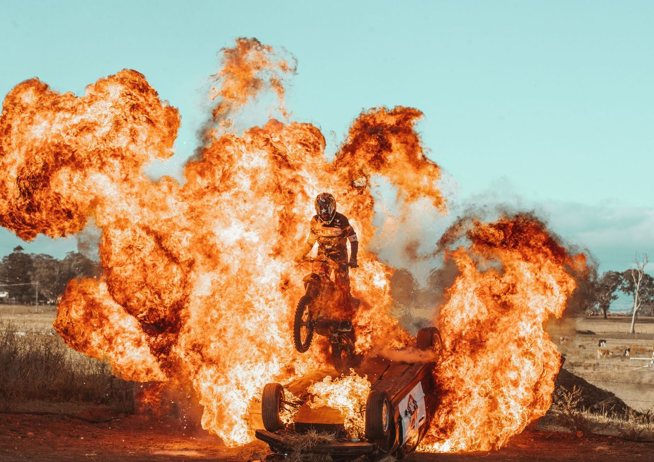 Great Balls of Fire: World first stunts in epic X-Games submission by team of Aussies