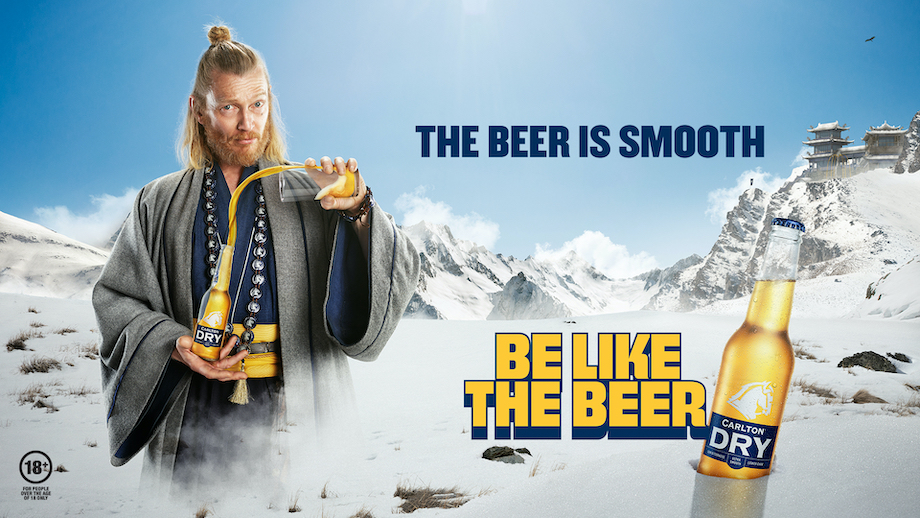 Carlton Dry creates an uncomplicated way of life based on beer in new campaign via Special Group