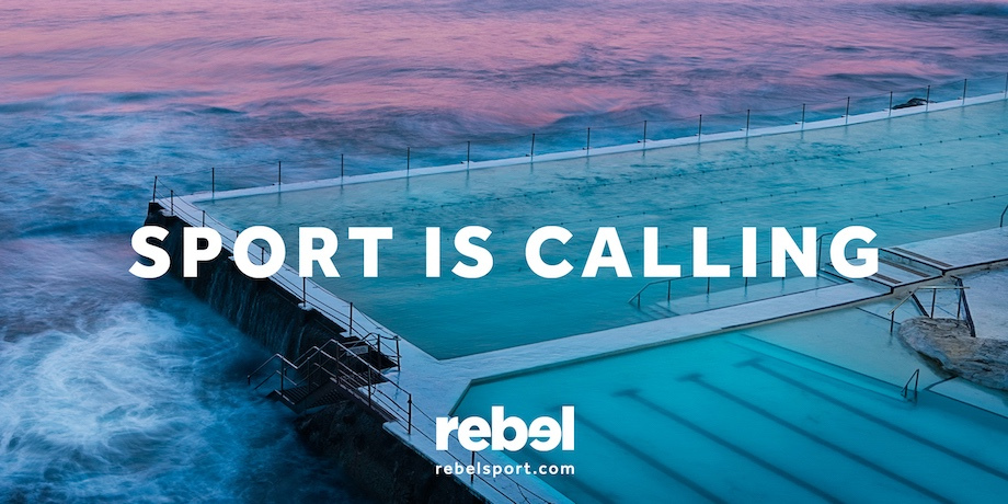 rebel launches new 'Sport is Calling' brand campaign via The Monkeys, Melbourne