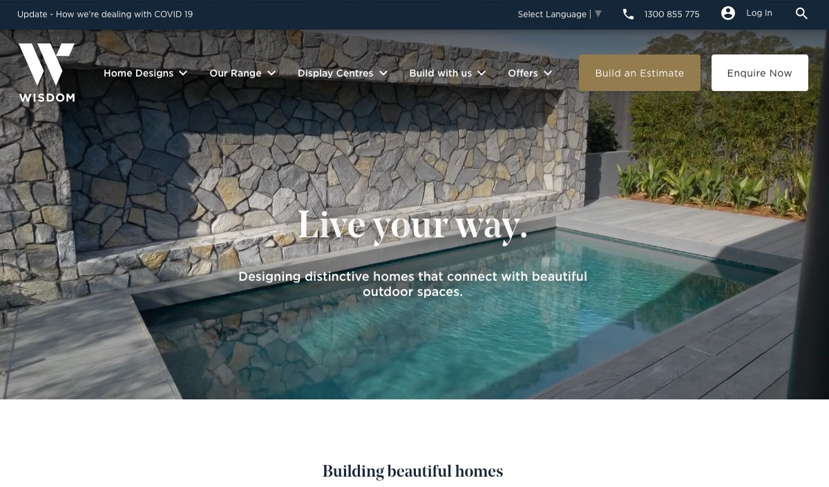 Sydney-based building company WISDOM launches new digital strategy with UnDigital