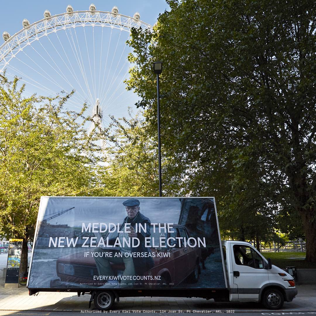 Russian successfully meddles in the New Zealand election in latest campaign for Every Kiwi Vote Count via Special Group New Zealand