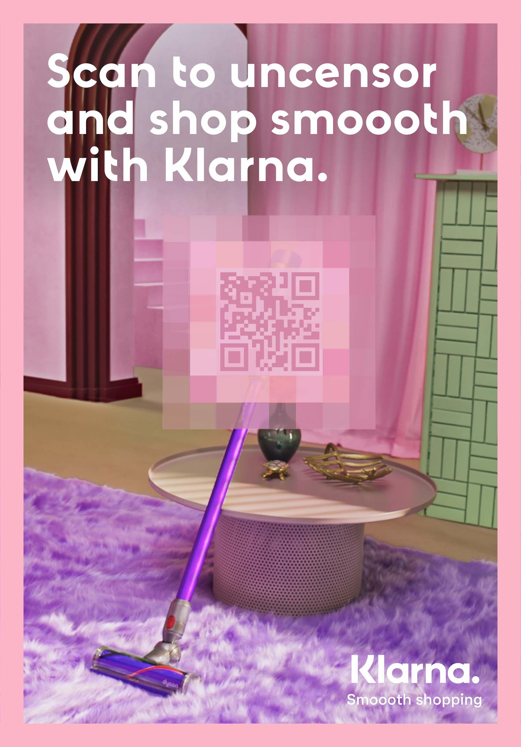 WARNING: The following campaign for Klarna via Thinkerbell has been labelled K-Rated for shopping pleasure